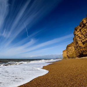 Burton Bradstock Beach - a 5 minute walk from Chesil Beach Lodge
