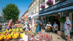 Bridport Market by James Loveridge Photography