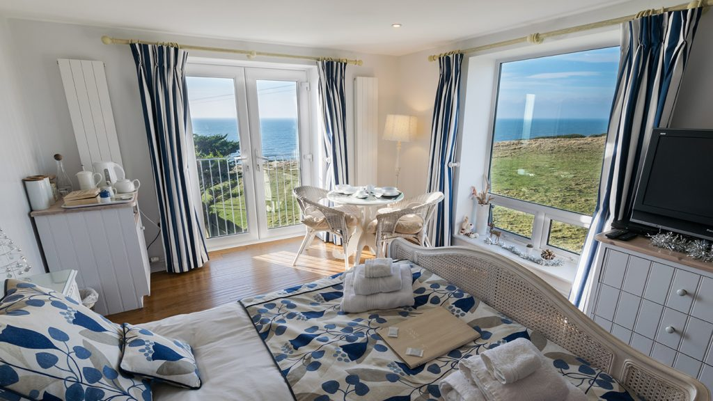 Golden Cap Suite interior - Chesil Beach Lodge