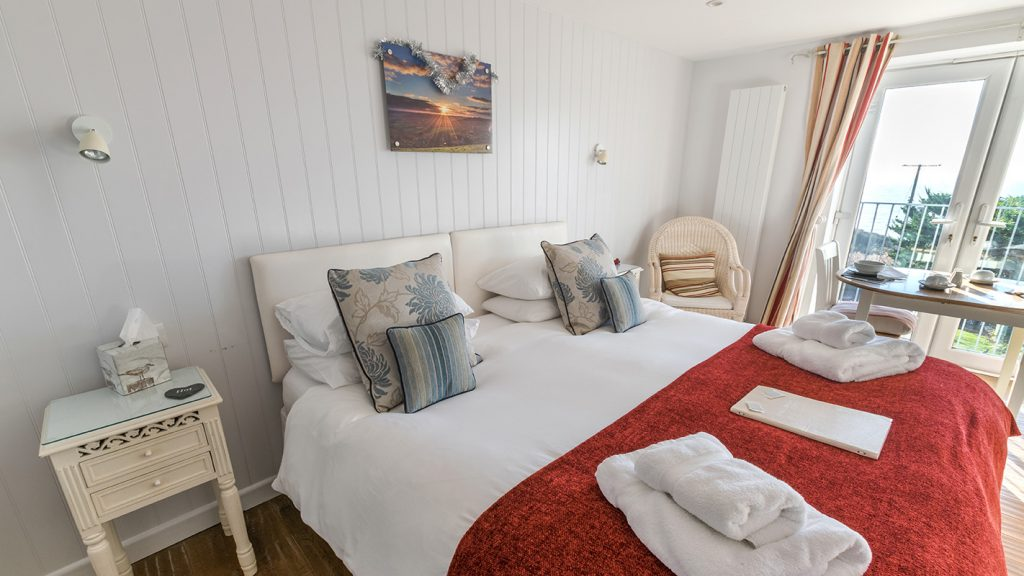Hive Bed and Breakfast Room at Chesil Beach Lodge