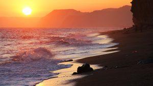 Burton Beach by James Loveridge Photography
