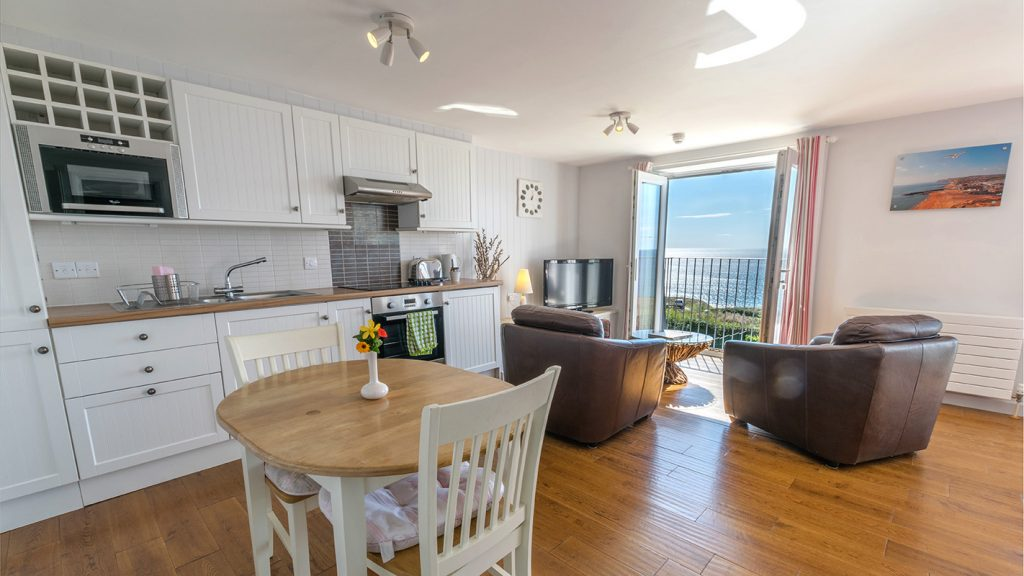 Living Areas in Hardy Studio Apartment - Self Catering Holidays in Dorset