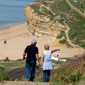 Couple on Holiday in Dorset