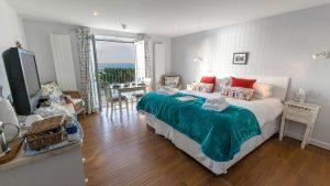 Cogden room interior - Bed and Breakfast in Dorset